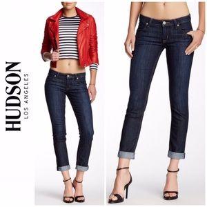 HUDSON Bacara Cuffed Straight Leg Jeans